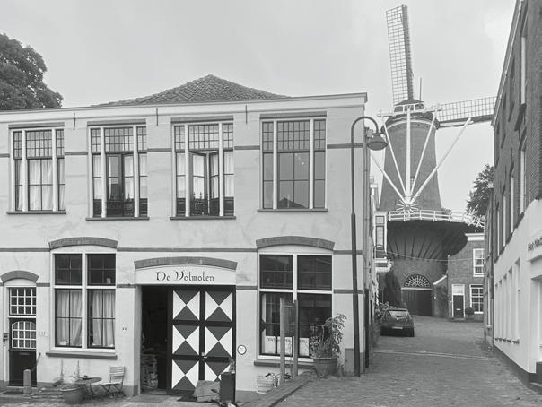 Volmolen in Gouda (foto Carola Hein)